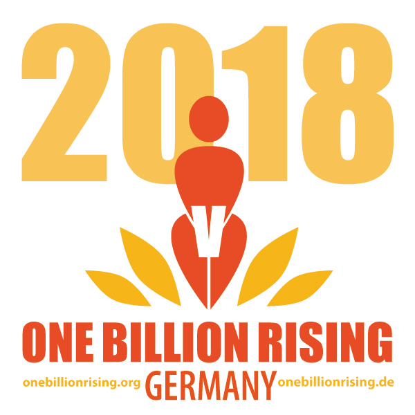 One Billion Rising Deutschland Germany 2018 www.onebillionrising.de