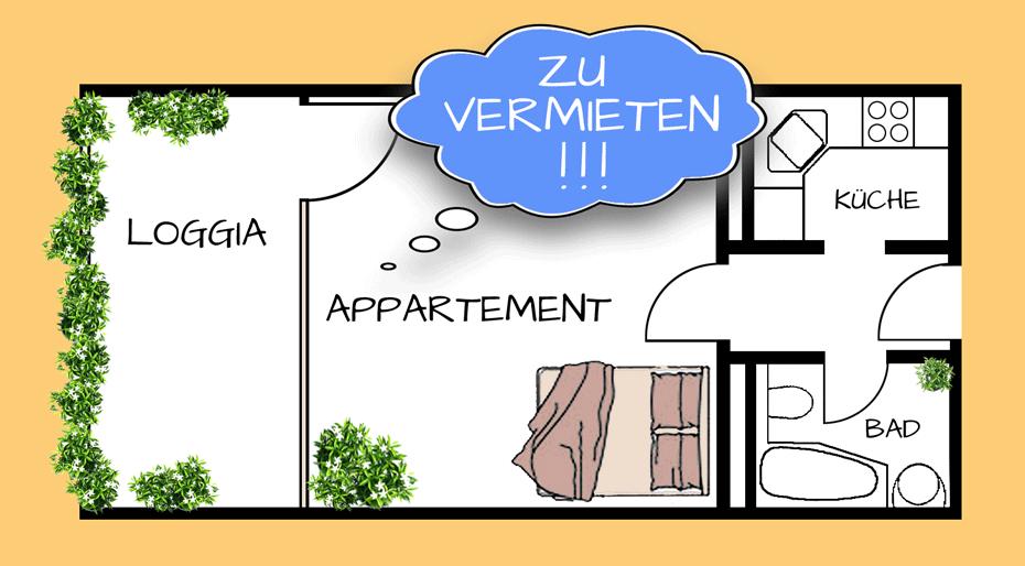 Apartement zu vermieten - Zwischenmiete München