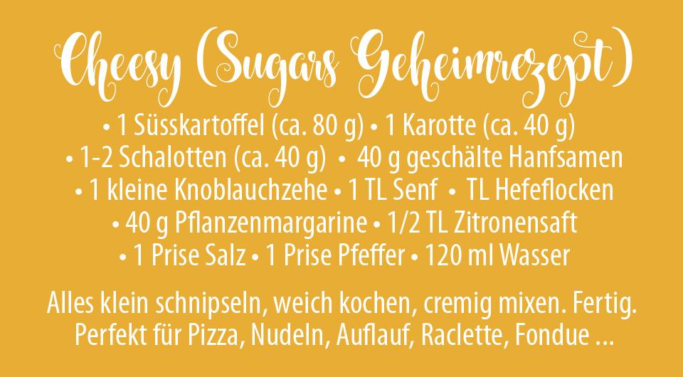Veganer Raclette Käse - Sugars Geheimrezept