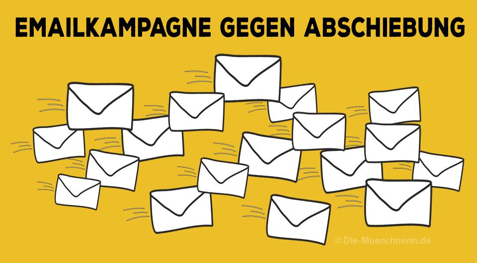 Emailkampagne gegen Abschiebung