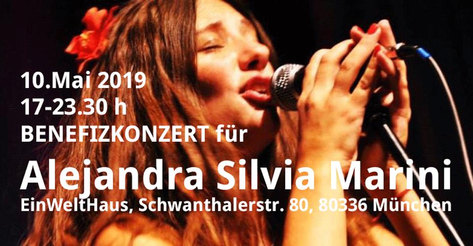Benefizkonzert für Alejandra Silvia Marini, 10.5.2019, EineWeltHaus