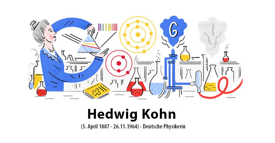 Hedwig Kohn Google-Doodle