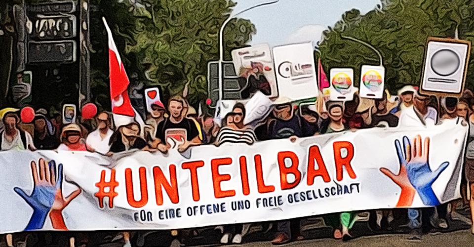 20200614 - Aktionstag - Unteilbar - #sogehtsolidarisch