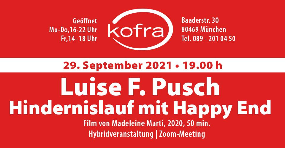 Luise F. Pusch. Hindernislauf mit Happy End